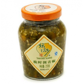 珍品湘味 坛坛乡脆鲜剁青椒 210G