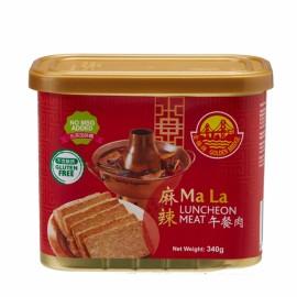 新加坡热销金桥牌 麻辣午餐肉 340G