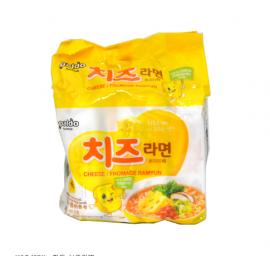 (卖光啦)韩国热销PALDO八道芝士辣面 奶酪起司香浓味  4包装*111G