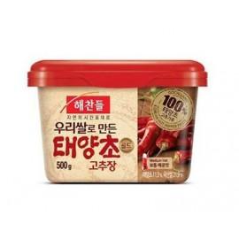 (卖光啦)韩国原产 CJ辣椒酱 500G