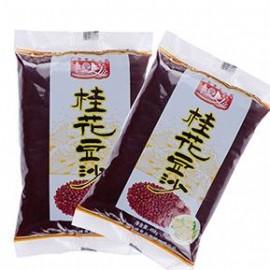 (卖光啦)广西桂林特产食全食美 桂花豆沙 458G