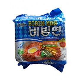 韩国原产热销 PALDO海地村  八道韩国正宗干拌面 5包入 650G