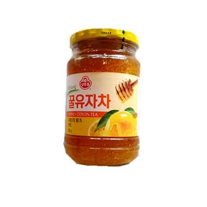 韩国原产热销  OTTOGI不倒翁蜂蜜柚子茶 500G