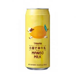 台湾原产 名屋 芒果牛乳340ML