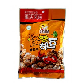 重庆风味 芝麻官 怪味胡豆 蟹黄味 蚕豆120G