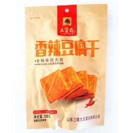 五贤斋豆腐干  香辣味 108G