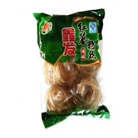 (卖光啦)湖南鑫发红薯粉丝  扁圈状(宽)  368G