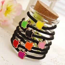 情人节礼品 爱心发绳颜色混发 每人限选一个