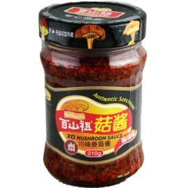 百山祖 麻辣川味香菇酱210G