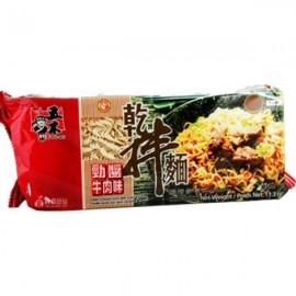 台湾原产五木劲酱牛肉干拌面 340G