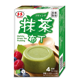香港多多  抹茶布丁  120G