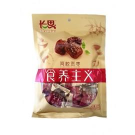 山东特产 长思食养主义 阿胶贡枣大包装227G
