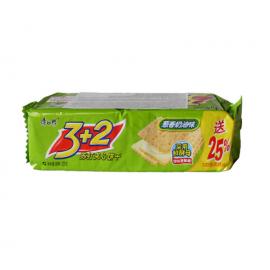 康师傅3+2苏打夹心饼干 葱香奶油味 125G