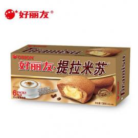 好丽友注心蛋类芯饼 提拉米苏 138G
