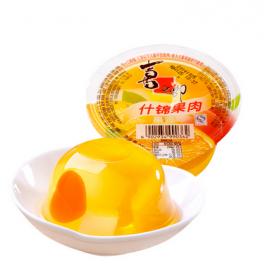 喜之郎果肉果冻 什锦果肉单杯装 200G