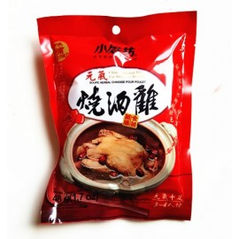 ( 卖光啦) 台湾小磨坊药膳食补 元气烧酒鸡 3-4人份 60G