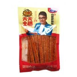 (卖光啦)贤哥面筋辣条  山椒肥肠味  130G