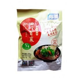 懒人大厨 与美四川即食冒菜 豚骨菌菇味 288G