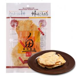 元臻烤鱼片 鲜烤鳕鱼 蜜汁味 40G
