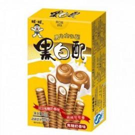 (卖光啦)旺旺 黑白配 焦糖奶香味60G
