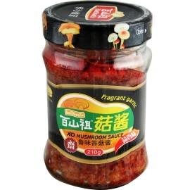 百山祖 蒜香鲁味香菇酱210G