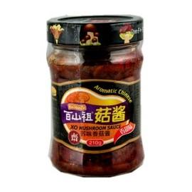 (卖光啦)百山祖 香甜苏味香菇酱210G
