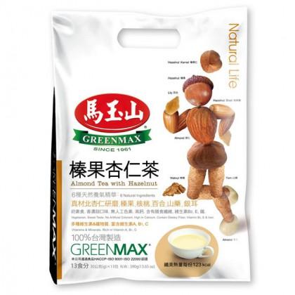 台湾原产热销马玉山榛果杏仁茶30g*13包