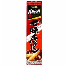 日本热销S&B-NUNAMI 日式风味辣酱 43G