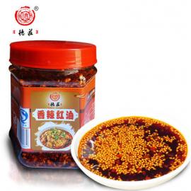 (卖光啦)重庆德莊 香辣红油 油泼辣子 200G