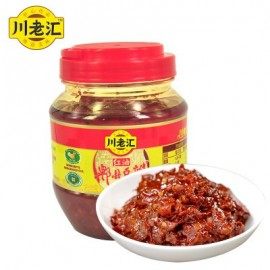 (卖光啦)川老汇 郫县红油豆瓣 500G