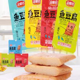 金磨坊鱼豆腐品尝装 烧烤味 22G
