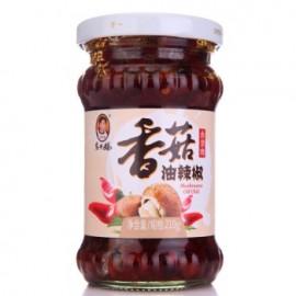 (卖光啦)老干妈 香菇油辣椒 210G