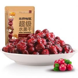三只松鼠超级水果干  红宝石蔓越莓干 108G