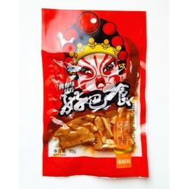 (卖光啦)好巴食豆腐干 泡椒口味 95G