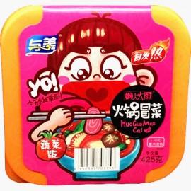 (卖光啦) 与美懒人大厨 自发热火锅冒菜 蔬菜版 碗装 425G