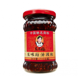 (卖光啦)老干妈 风味鸡油油辣椒 280G