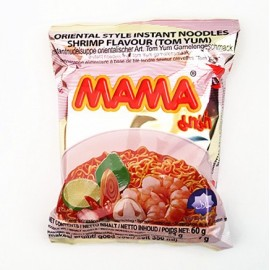 泰国原产MAMA牌 酸辣 虾味面 60G
