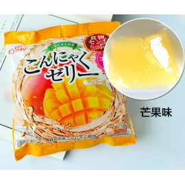 (卖光啦)日本热销雪国 果汁蒟蒻果冻 布丁 芒果味 108G