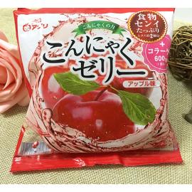 日本热销雪国 果汁蒟蒻果冻 布丁 苹果味 108G