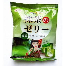 日本热销雪国 果汁蒟蒻果冻 布丁 抹茶味 180G