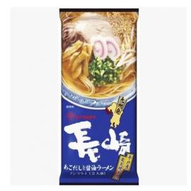 日本热销MARUTAI玛尔泰 长崎日式碳烤海鲜酱油汤拉面条 2人份 178G