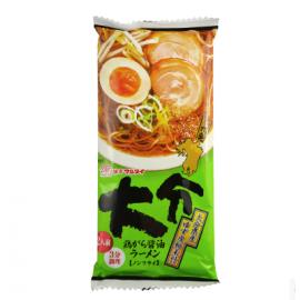 日本热销MARUTAI玛尔泰 大分鸡汤酱油拉面 2人份 214G