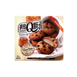 台湾热销宝岛Q点子麻糬派饼  蜂蜜奶油味 160G