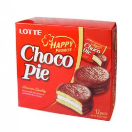 韩国LOTTE 乐天麦淇酪夹心巧克力派 超值装 28G*12