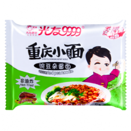 光友9999重庆小面  豌豆杂酱面  110G
