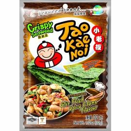 泰国小老板即食紫菜  泰式香辣炒蚬味 32G