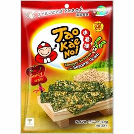 泰国原产TAO KAE NOI 小老板天妇罗芝麻紫菜 辣香味 39G
