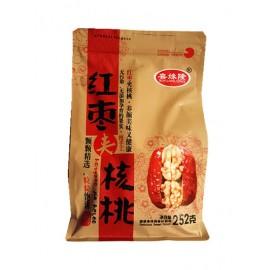 喜缘隆 红枣夹核桃  252G