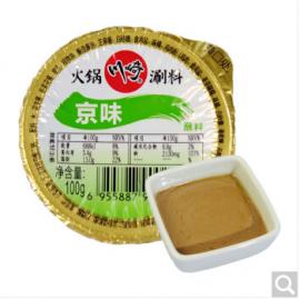 川崎火锅调料拌面蘸料 京味 100G