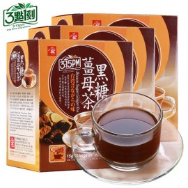 (卖光啦)台湾三点一刻 黑糖姜母茶 15G*5